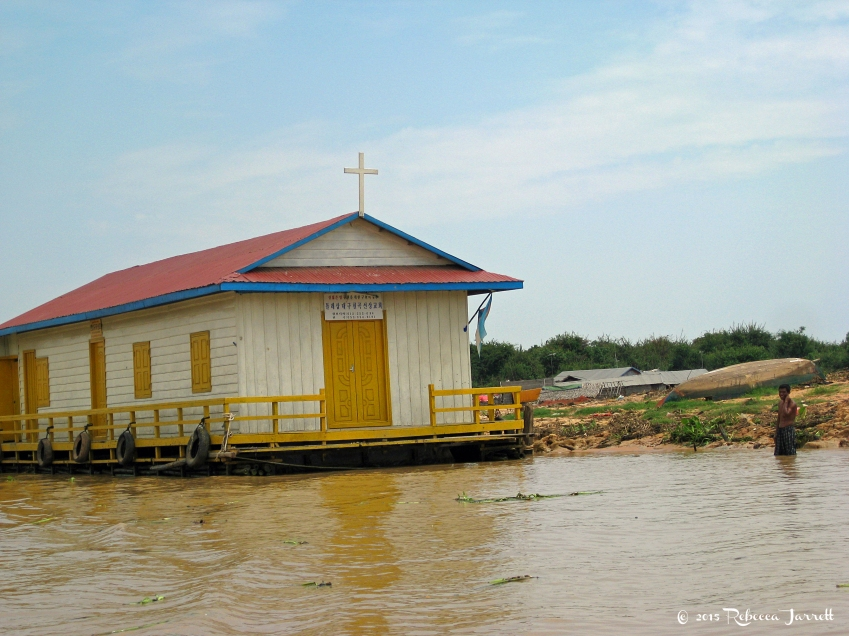Church_tonlesapfloatingvillage_cambodia_rebeccajarrett_travelblogger
