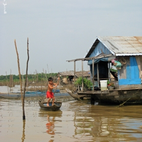 Travel Inspiration: Floating Village on Tonle Sap Lake,Cambodia