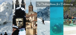 My Top 6 Favorite Travel Destinations in February