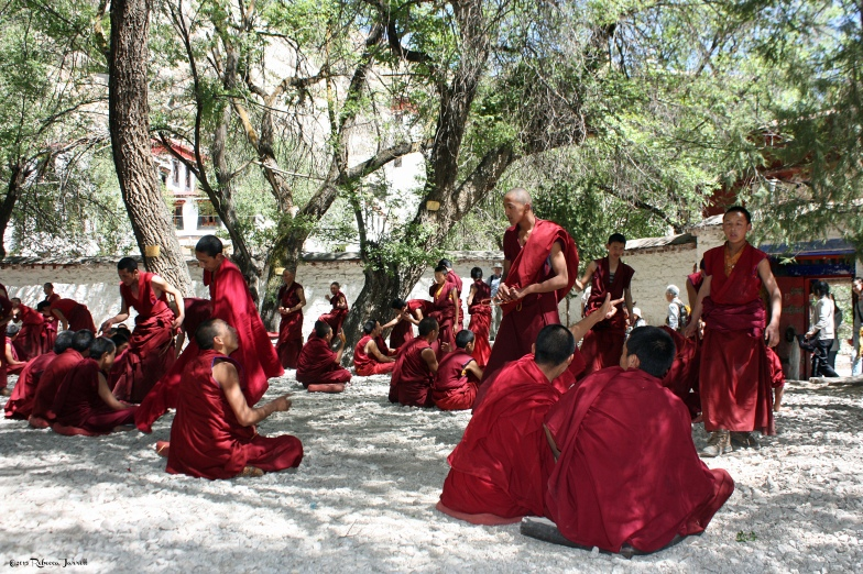 DebatingMonks_SeraMonastery_Tibet_thepersephonepersepective_travelblog